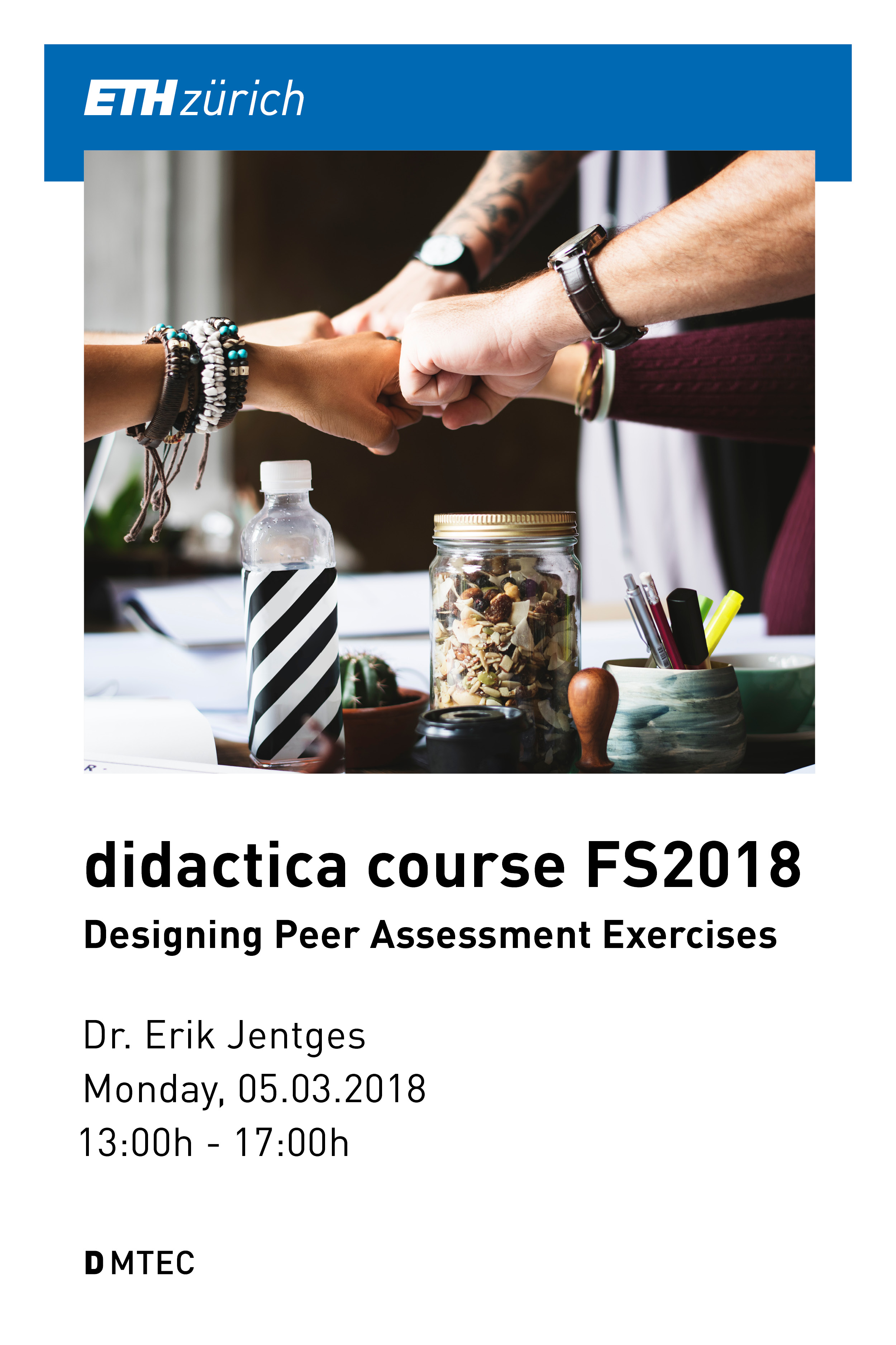Cover image for Testkurs Erik Jentges - nicht löschen: Designing Peer Assessment Exercises